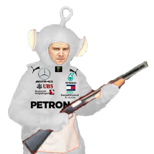 F1 teletubbies (every team) - Sticker 4