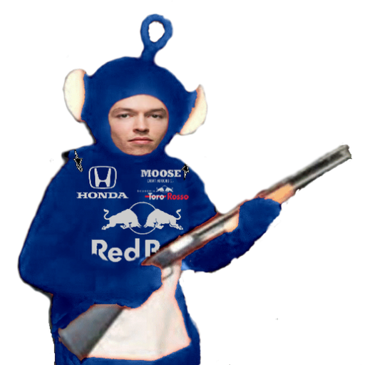 F1 teletubbies (every team) - Sticker 19