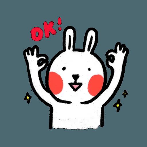 懶散兔3 - Sticker 24