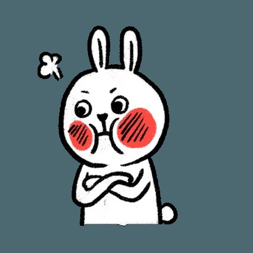 懶散兔3 - Sticker 7