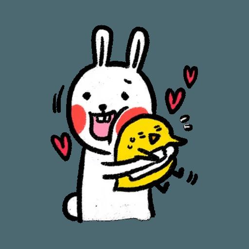 懶散兔3 - Sticker 30