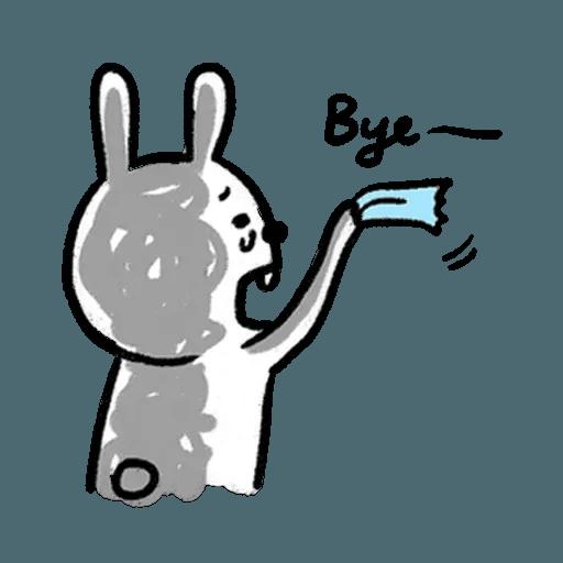 懶散兔3 - Sticker 21
