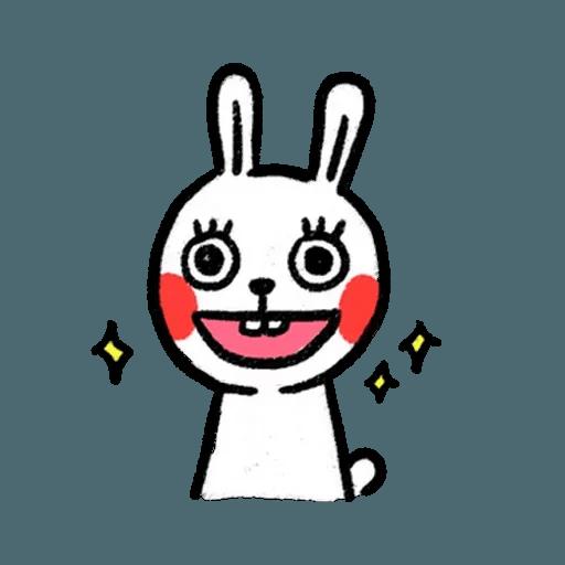懶散兔3 - Sticker 3