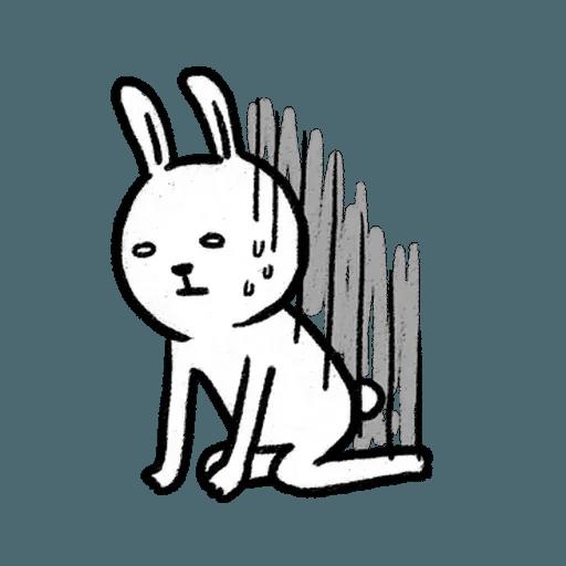 懶散兔3 - Sticker 25