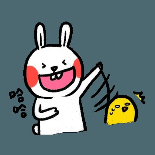 懶散兔3 - Sticker 22