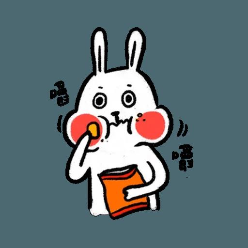 懶散兔3 - Sticker 13