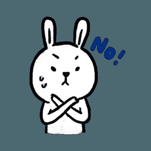 懶散兔3 - Sticker 2