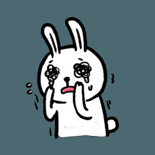 懶散兔3 - Sticker 4