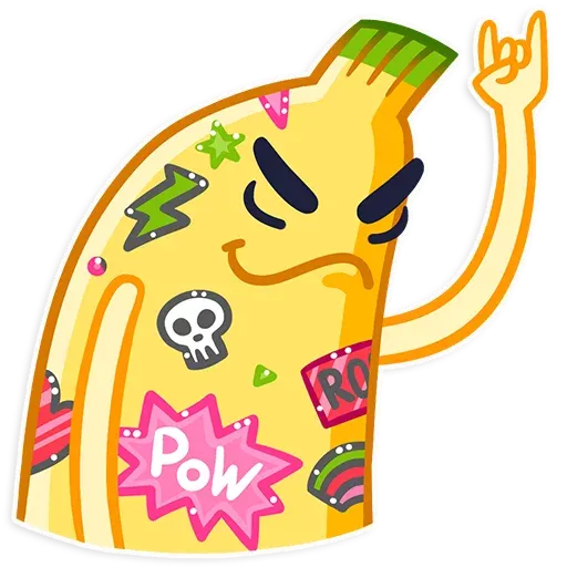 Banana - Sticker 17