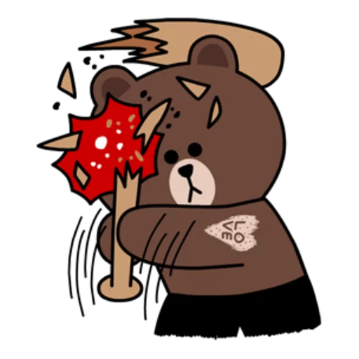 嬲熊大1 - Sticker 29
