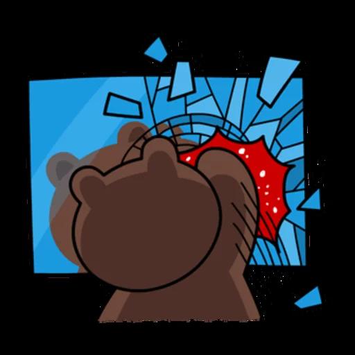 嬲熊大1 - Sticker 15
