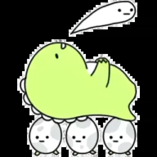 小恐龍 - Sticker 2