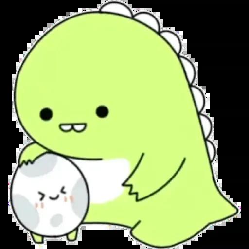 小恐龍 - Sticker 12