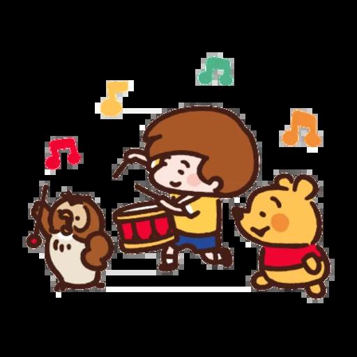 志華bb sticker2.0 - Tray Sticker