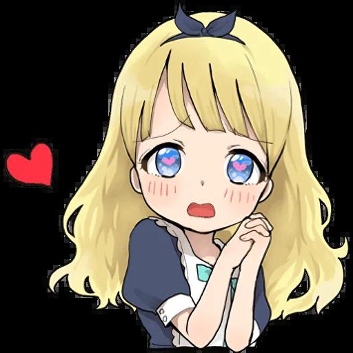 /start https://t.me/addstickers/LINE_A_little_girl_Alice_ENG - Sticker 6