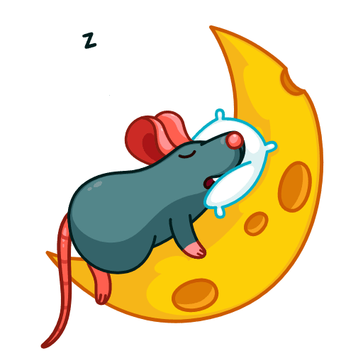 Mr. Christmas Rat - Sticker 10