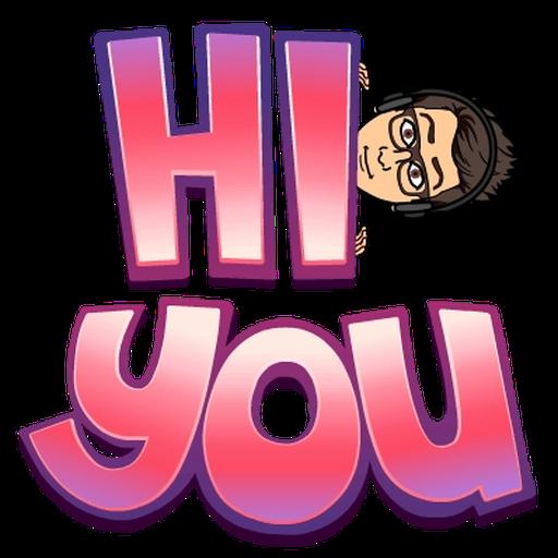 BitMoji - Sticker 1
