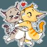 Kitie Cat - Tray Sticker