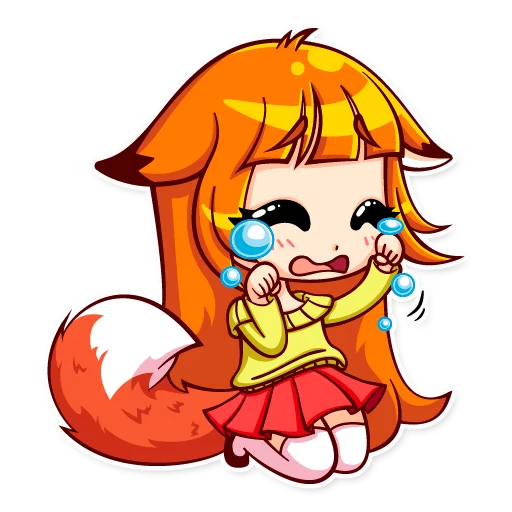 Alice Fox - Sticker 10