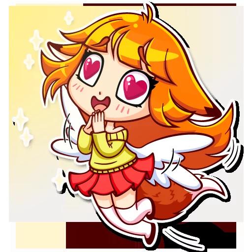 Alice Fox - Sticker 4