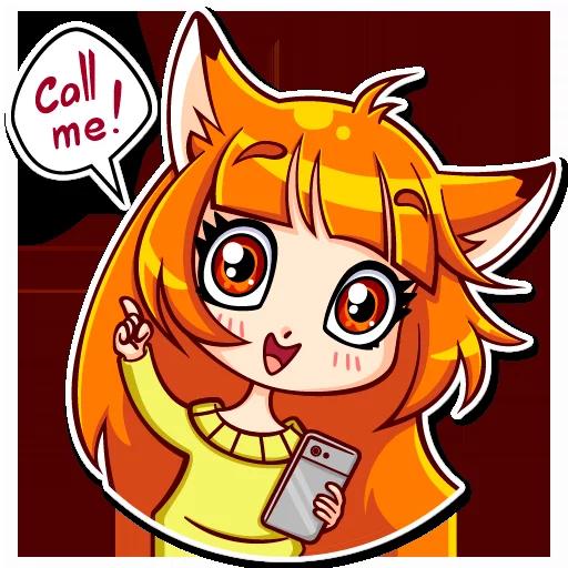 Alice Fox - Sticker 18