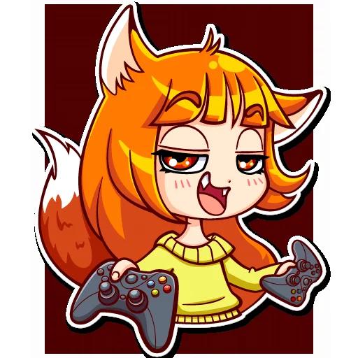 Alice Fox - Sticker 25