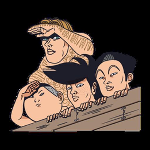 稻中兵團 2.0 - Sticker 7