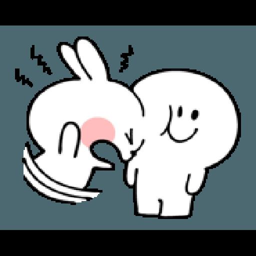 spoiled rabbit smile person 10 - Sticker 18