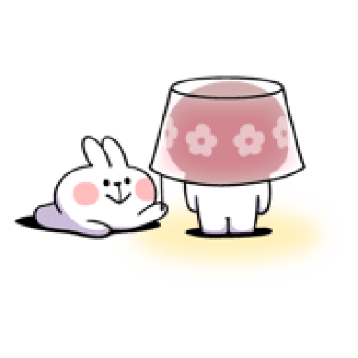 spoiled rabbit smile person 10 - Sticker 23