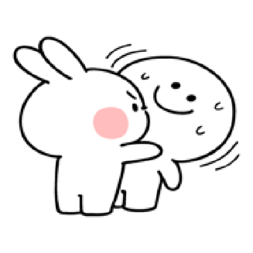 spoiled rabbit smile person 10 - Sticker 12