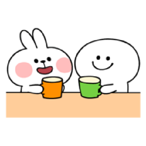 spoiled rabbit smile person 10 - Sticker 9