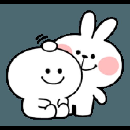 spoiled rabbit smile person 10 - Sticker 24