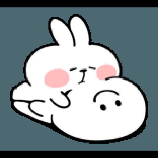 spoiled rabbit smile person 10 - Sticker 5