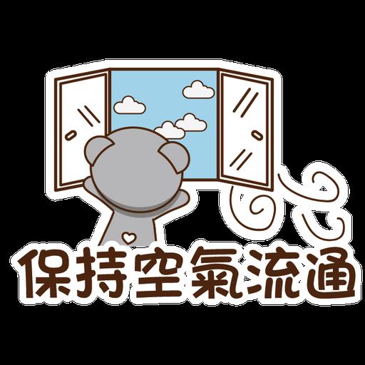 Bobby & Friends - 防疫篇 - Sticker 12