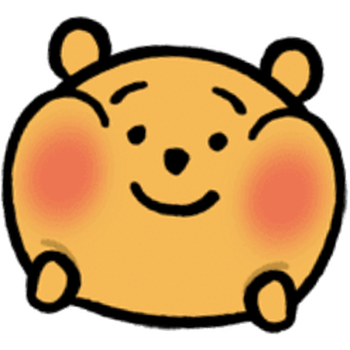 Pooh head - Sticker 7