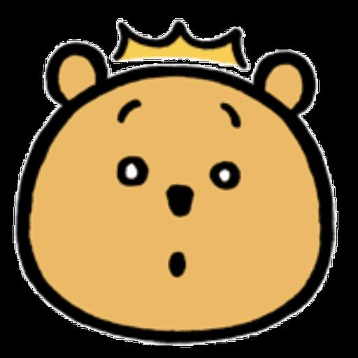 Pooh head - Sticker 8