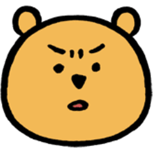 Pooh head - Sticker 4