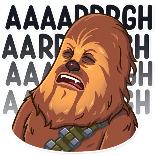 Chewbacca - Sticker 17