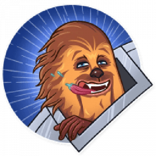 Chewbacca - Sticker 10