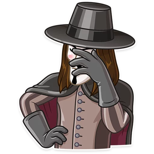 Guy Fawkes - Sticker 12