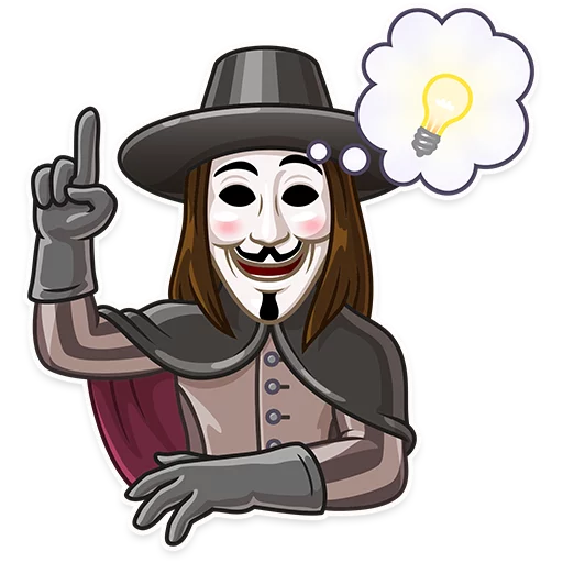 Guy Fawkes - Sticker 10