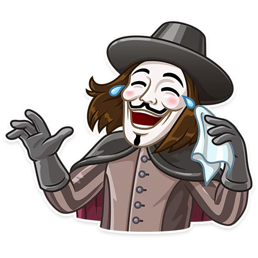 Guy Fawkes - Sticker 1