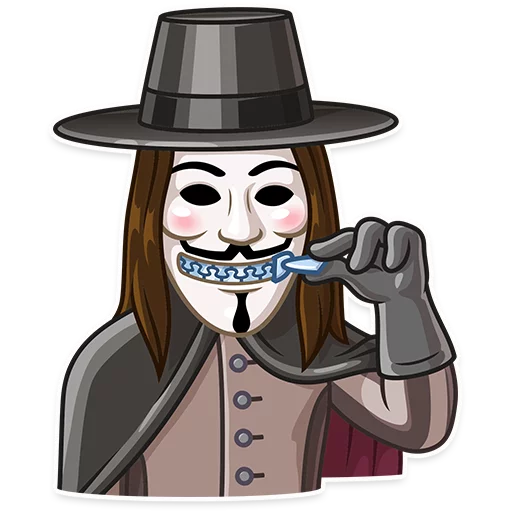 Guy Fawkes - Sticker 22