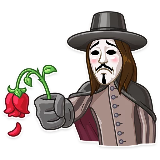 Guy Fawkes - Sticker 20
