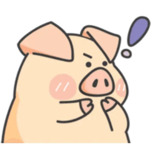 PigPig&GuaGua - Sticker 5