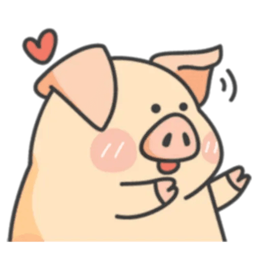 PigPig&GuaGua - Sticker 4