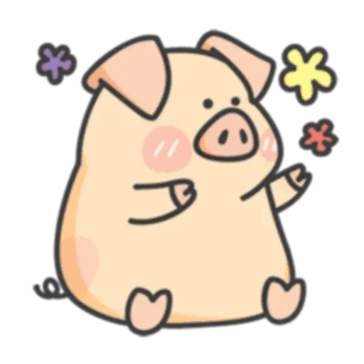 PigPig&GuaGua - Sticker 2