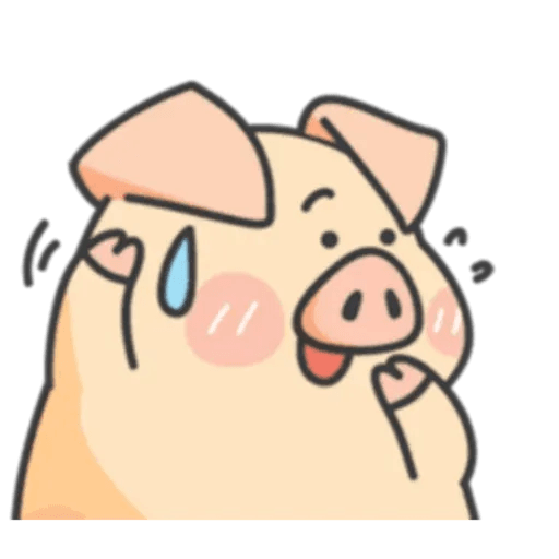 PigPig&GuaGua - Sticker 6
