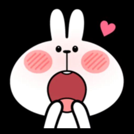 ウサギさん2 - Sticker 14