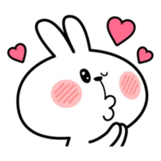 ウサギさん2 - Sticker 11